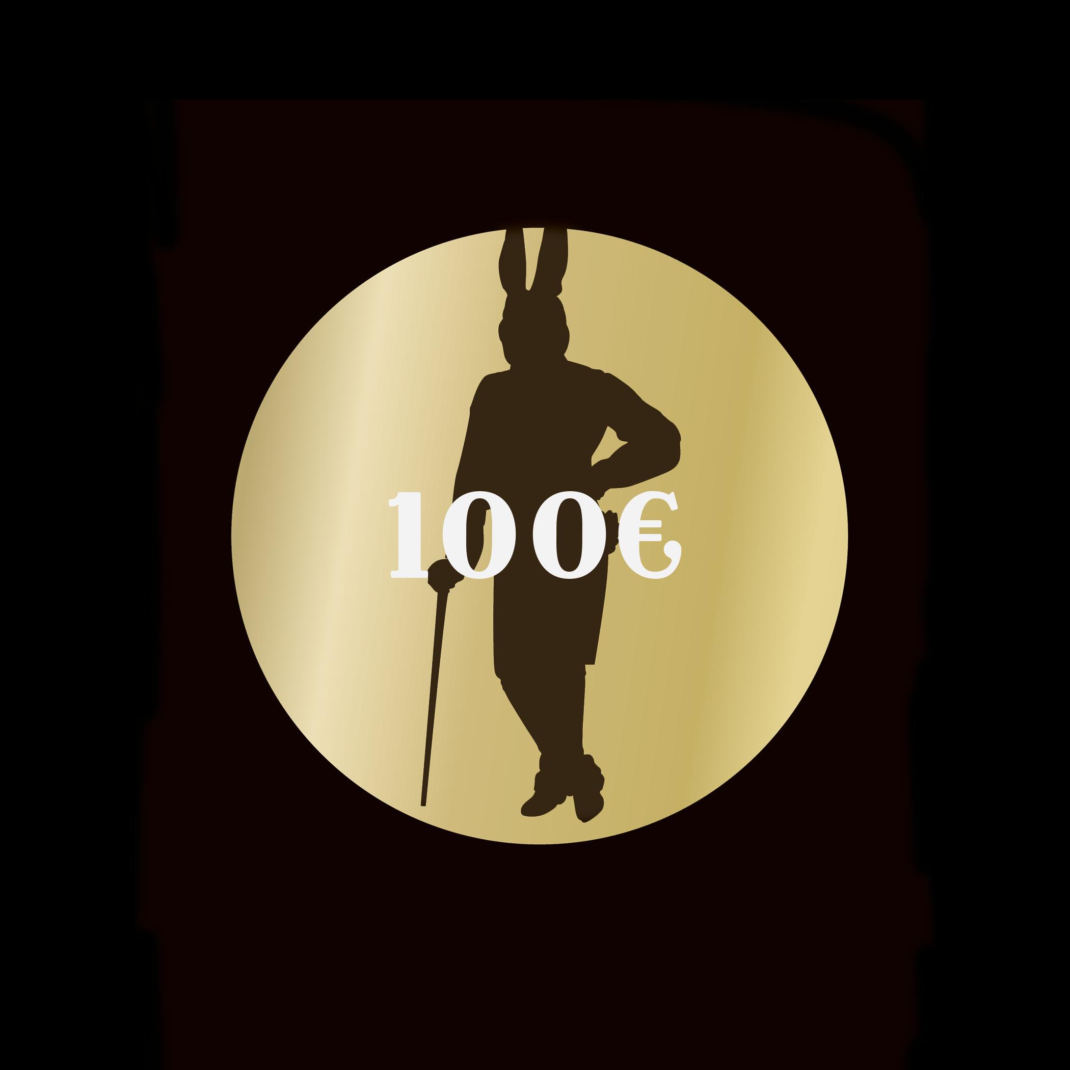 100 Euro Gutschein The Rabbithole Bar